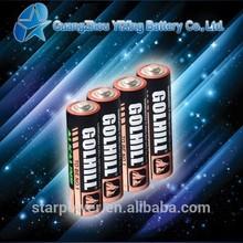 size aa am3 alkaline battery lr6 1.5v dry battery