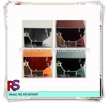 Designer classical aluminum rectangular hollow section