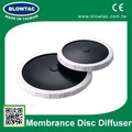 disque à fines bulles diffuseur membrane