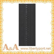 5# PVC waterproof long chain nylon zipper