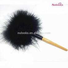 cosmetic powder makeup brush DF-059 beige handle