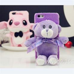 Cute 3D Rilakkuma Teddy Bear Doll Toy Plush Case Cover For iphone5/6