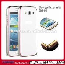 for Samsung Galaxy win i8552 Aluminum metal frame bumper case