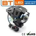 de alta calidad 3000lm 6000k eléctrico de la motocicleta piezas del coche del led lente del proyector