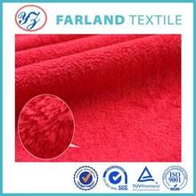 2015 popular super soft fabric velboa fleece fabric for kid clothes