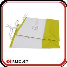 Custom luxury paper bag printed folding shopping bag