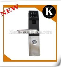 2015 new design combination digital fingerprint door lock