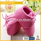 2015 hot selling soft leather shoes cheap fashion child shoes leather baby moccasins