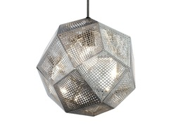 Lighting And Lamps Modern Chrome Silver Hanging Lighting Tom Dixon Etch Hanging Lighting (DP12087S)