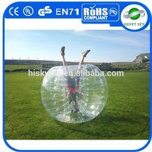 2015 The most popular sport bubble football,bubble ball,plastic bumper ball