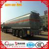 China manufacturer 50000 liters fuel oil tanker semi trailer