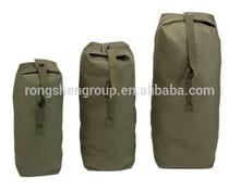Top load canvas duffle bags Military Duffle Bag