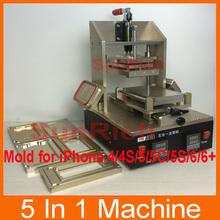 5 1n 1 Mobile Phone LCD Making Machine = Samsung Middle Frame Separator,iPhone Frame Laminator,Glue Disassemble
