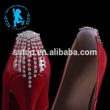 Fashion black decorative shoe buckles (XS008)