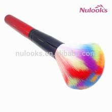 cosmetic powder makeup brush DF-053 colorful brush