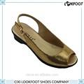 de china profesional de las mujeres facturer zapatos sandalias de verano
