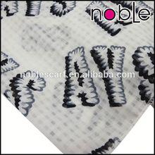 Handmade Acrylic Print Polyester Scarf