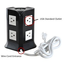 electrical outlet 110V American power plug and sockets with usb charge station