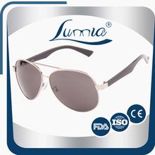 Factory Price Wholesale Purple updated durable aviator sunglasses men