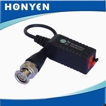 2014 recién llegado de un solo canal pasivo CCTV AHD analógica de la cámara balun HY-102C-HD