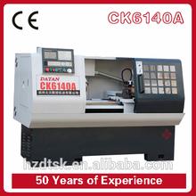 Alta precisión CK6140 hobby torno de metal