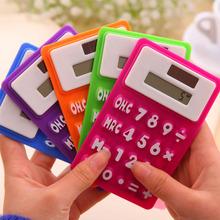 WJ022 Korean Keyboard style color office use silicone mini calculator wholesale