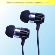 2015 SXD Good Bass Wired Earphones, 3mW Maximum Input Power, 20Hz-22,000kHz Frequency Responses