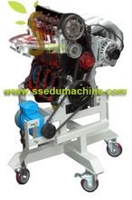 Vocational Training Equipment Engine Training Model 2 Strokes Petrol Educational Equipment