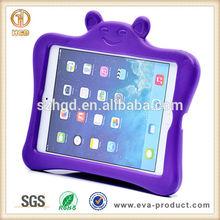 Little lovely Bear Shape Kids Friendly Purple Case for iPad Mini 3