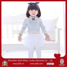 baby girl 100 cotton t shirt grey