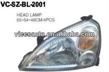 La cabeza de la lámpara para suzuki baleno xg/aerio 03 liana