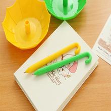 WJ027 Cheap plastic pen,Logo Printed cheap feature ballpoint pen umbrella shape