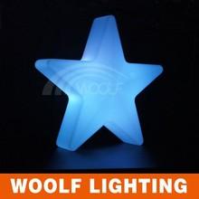 2015 hot sales LED Christmas twinkle illuminated curtain light star