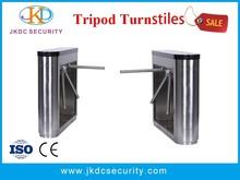 For factory access control 304 stainless bridge access control tripod turnstile gate JKDJ-128A