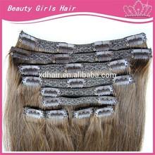 bulk buy from china brazilian remy hair best quality clip on hair 220g fullhead