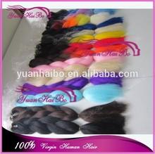 christmas new arrival Yuanhaibo Braiding hair factory wholesale cheap fake hair braids super kanekalon hair fiber braids