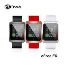 wholesale eFree E6 fashion Metal appearance thin wrist watch
