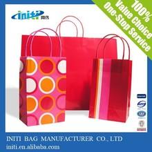 Printed Customized Luxury Craft Shopping Bag