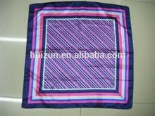 single color silk designer slight silk scarf2015