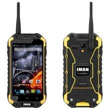iMAN i6 Waterproof / Dustproof / Shockproof 3G Smart Phone, 4.7 Inch TFT IPS Screen Android 4.4.2, MTK6592 Octa Core 1.57GHz, R