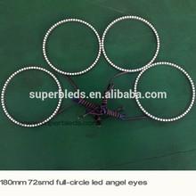 full circle 180mm/190mm rings headlight angel eye lighting system