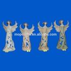 Polyresin Stoneware look Pastel Angels