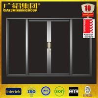 Luxury aluminum glass doors shop