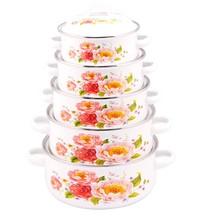 elegant in style enamel cast iron cookware