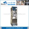 Elevador da caçamba, 100~500kg elevador monta-cargas, 0.4m/s alimento comercial elevador para cozinha