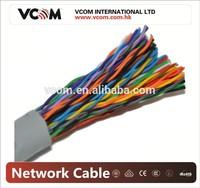 VCOM High Quality UTP Cat5e Lan Cable 100 Pair 305M/Roll 23AWG