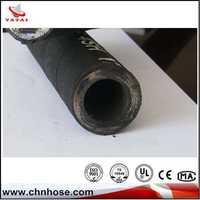 High quality wire braid sae 100r2 hydraulic hose mangueira de borracha
