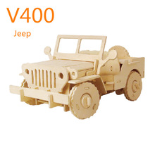 remote-controlled car 3D puzzle DIY moving car