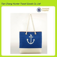 Brand casual Anchor printed bag