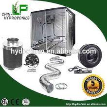 Completo hidroponía grow tent kits / ventilación / sistema de ventilación de aire